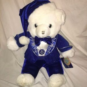 Other - 2007 snowflake teddy NWT large